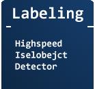 Hochgeschwindikeits Labeling (Inselfinder)